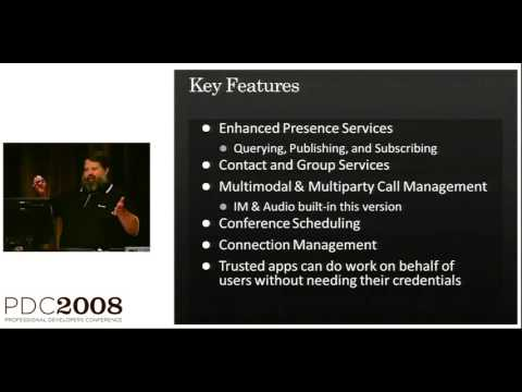 PDC 2008 Office Communications Server 2007 R2 Enabling Unified Communications