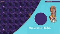Paper.io 2 Map Control: 100.00% [Thanos Hand]