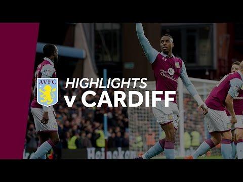Aston Villa 3-1 Cardiff City   Highlights