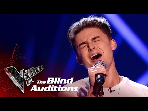 Jack Morlen's 'Scared To Be Lonely' | Blind Auditions | The Voice UK 2019