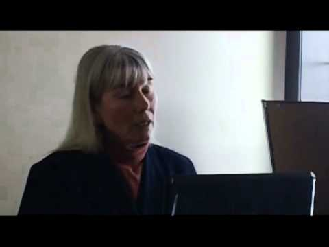 Fracking presentation in Saskatchewan featuring Jessica Ernst