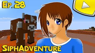 SiphAdventure : Vache GÉANTE ?! | 28 - Minecraft