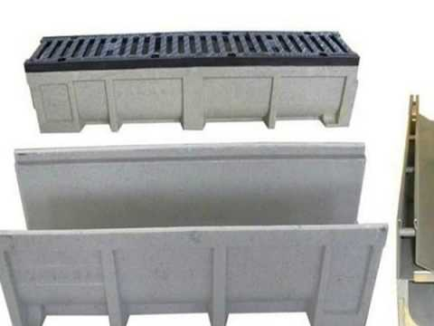 polymer concrete drains galvanized steel grating installation