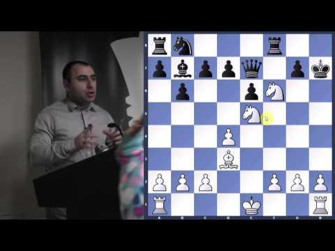 Lasker v Thomas | Dutch Defense | Tactics - GM Varuzhan Akobian - 2013.03.10