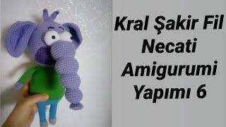Kral Şakir Fil Necati Tarifi Yapımı 6 (Bıyık Yapımı, Kazak Ucu ve Tepe Saçların Yapımı)