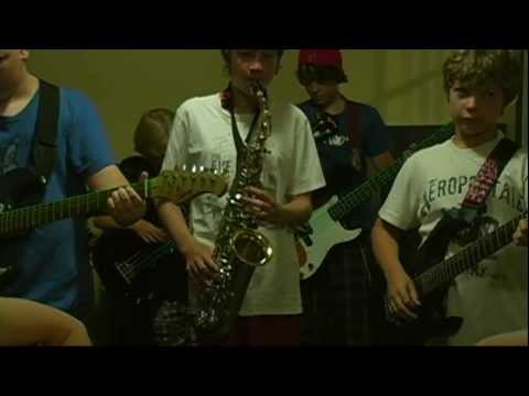 Kansas City - The Discs (Connors Music Rock n' Jam Camp 2011 - Session 1)