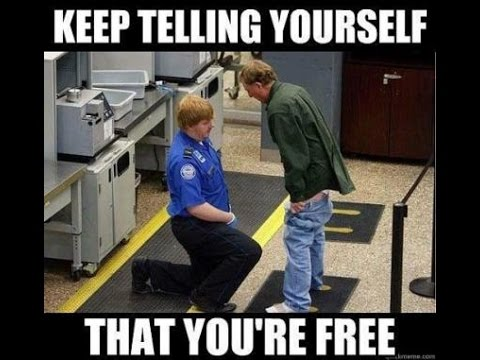 POLICE STATE AMERICA keep telling yourself that your free