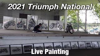 Motorcycle Art Part 98 / 2021 Triumph National