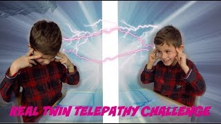 REAL TWIN TELEPATHY CHALLENGE !!!