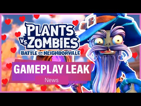 LEAKED WIZARD ZOMBIE GAMEPLAY (News) - Plants Vs Zombies: Battle For Neighborville
