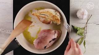 Курица с базиликом и Фетаксой