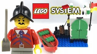 LEGO Pirates Armada Sentry review and unboxing! 1996 set 6244!