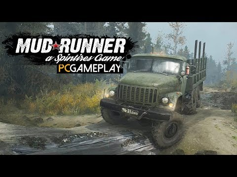 Spintires: MudRunner Gameplay (PC HD)