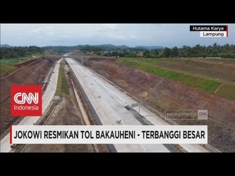 Presiden Jokowi Resmikan Tol Bakauheni - Terbanggi Besar, Tol Trans Sumatera Mp3