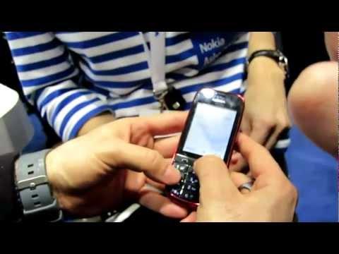 Nokia Asha 203 Demo #1 @ MWC 2012