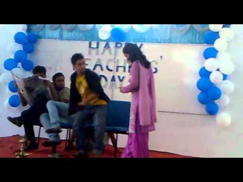 a silent skit performed by meta students in nit jamshedpur