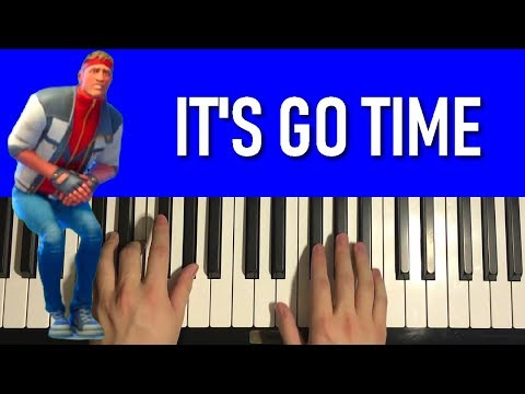 HOW TO PLAY - FORTNITE Dance - It's Go Time (Piano Tutorial Lesson)