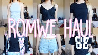 HONEST ROMWE TRY ON HAUL + EXPERIENCE   Demi Bang
