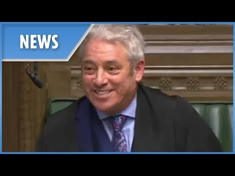 Bercow says anti-Brexit sticker in his car is his wife's