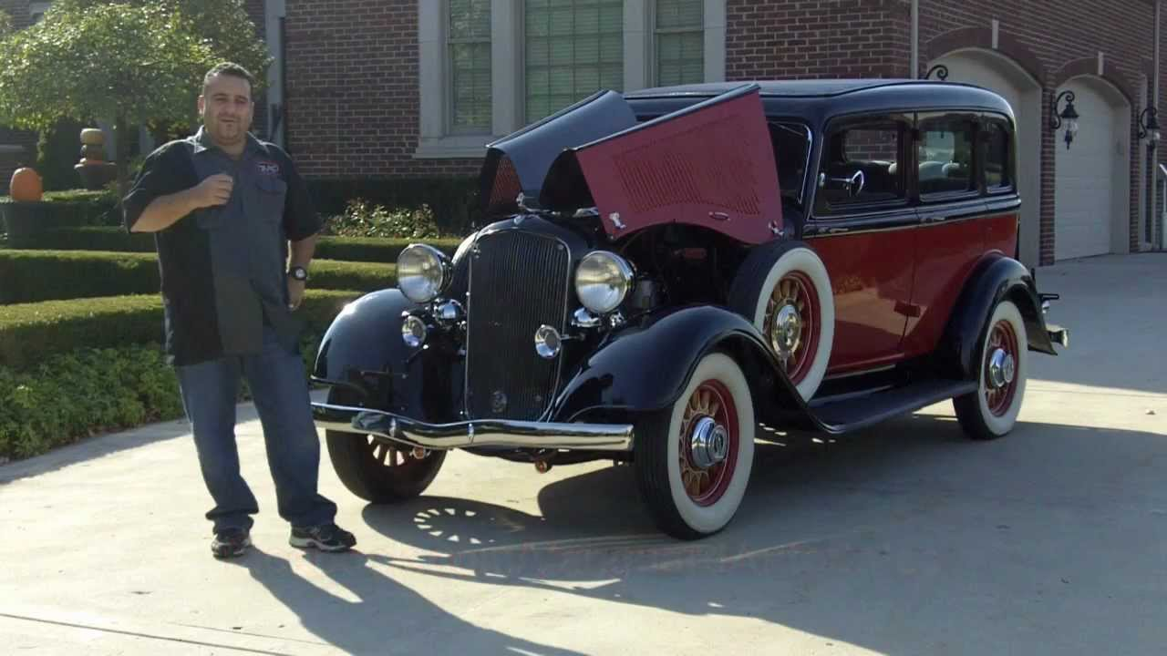 1933 plymouth 4 door sedan classic car for sale in mi