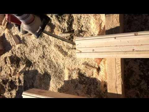 Процесс строительства дома из бруса в Костроме