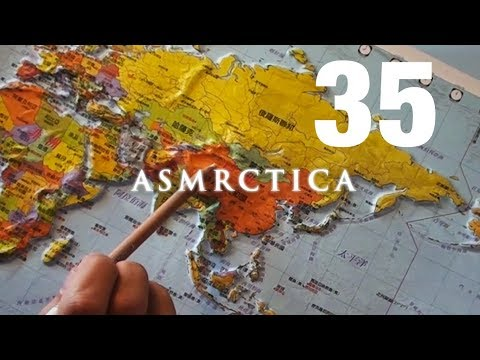 ASMR Relief World Map - Soft Spoken History Of The Continental Plates