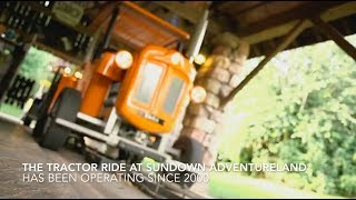 Tractor Rides for Theme Parks and Attractions