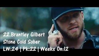 Top 30 Country Songs Week Of 1/30/16