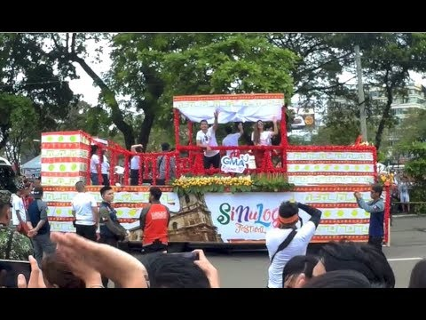Sinulog Festival 2018 - GMA, Jollibee & Many Happy Filipinos Cebu City Philippines