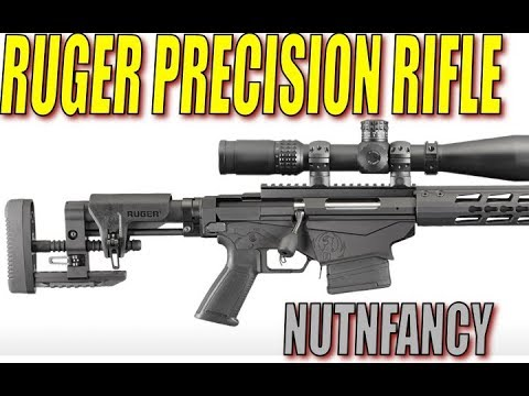 Ruger Precision Rifle Review- Nutnfancy