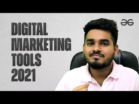 Best Digital Marketing Tools in 2021 | Yaswanth | Geeksforgeeks