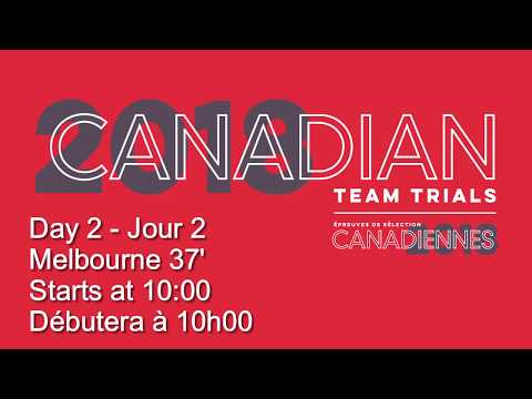 2018 Canadian Team Trials: Day 2 - 37' Melbourne