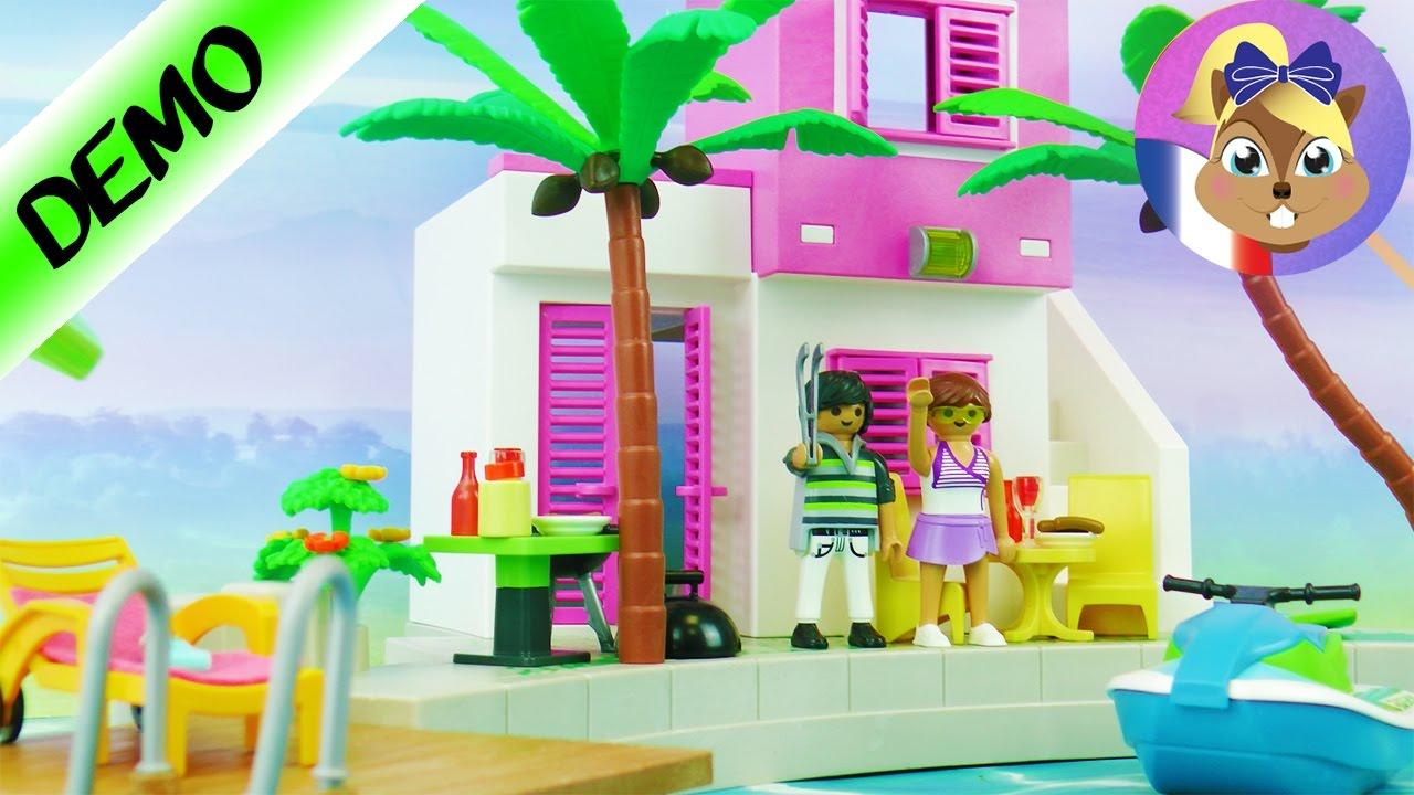 maison de vacances de luxe playmobil villa de luxe au