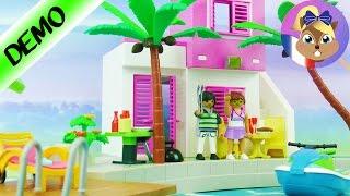 Maison de vacances de luxe Playmobil! Villa de luxe au bord de la mer! Jeux pour enfants