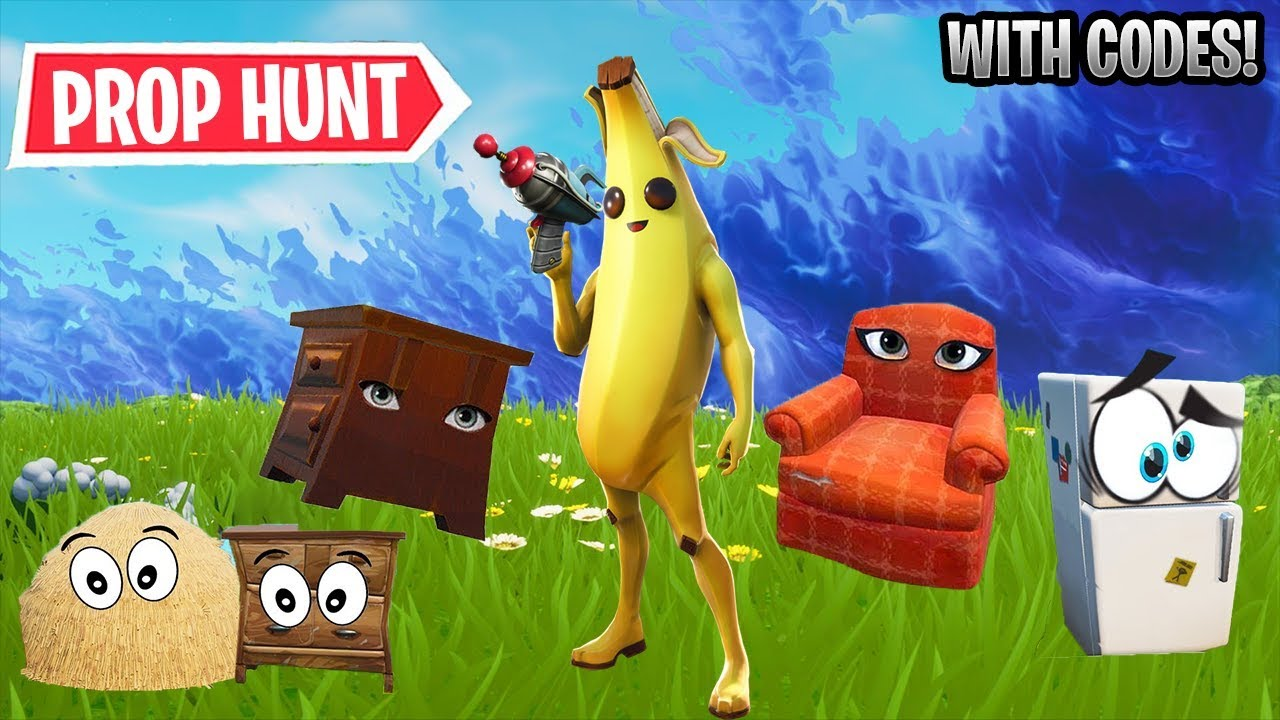 Best Prop Hunt Maps In Fortnite Creative WITH CODES!