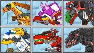 Repair Dino Robot - Full 6 Games - Full Game Play - 1080 HD