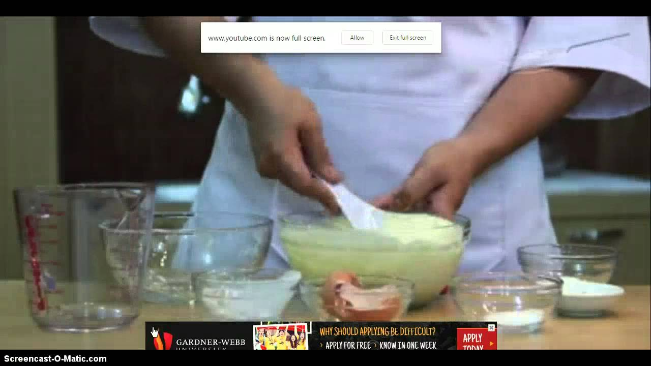 tutorial kue cubit green tea - YouTube