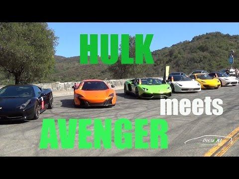 The Hulk & Avenger First Meet: Fuel Run Pre-Run with Shmee150, Himler & #TeamDonut