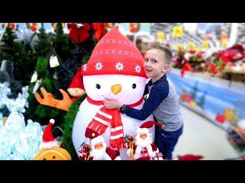 ВЛОГ Новогодний шоппинг | Готовимся к Новому году, покупаем елочные игрушки | Наш самый обычный день