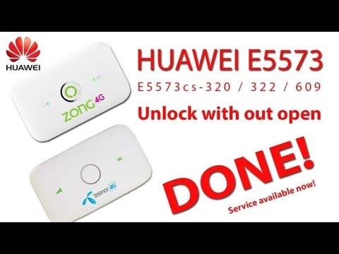 Huawei E5573Cs-609 Unlock Without Open