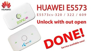 Huawei E5573Cs-609 Unlock Without Open