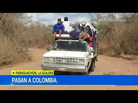 Venezolanos usan trochas para entrar a Colombia