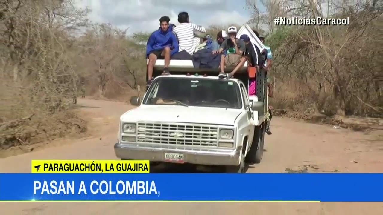 Download Venezolanos usan trochas para entrar a Colombia