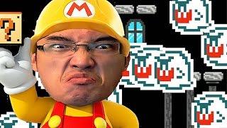 Super Mario Maker FR | JE DEVIENS IMPATIENT EN MAUDIT!