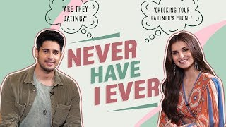 Tara Sutaria & Sidharth Malhotra play Never Have I Ever, reveal secrets| Are they dating? Marjaavaan