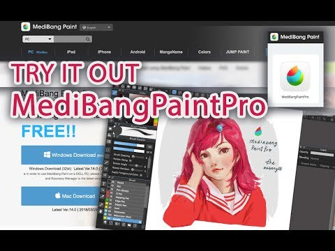Try it out MediBangPaintPro (Download Process Real times 1