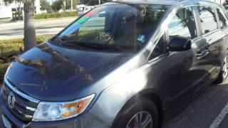 2013 Honda Odyssey EX-L Gray 27P09154 Chris Happy Holidays