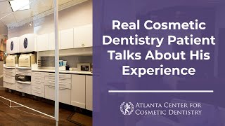 Real Cosmetic Dentistry Patient Talks About His Experience Thumbnail