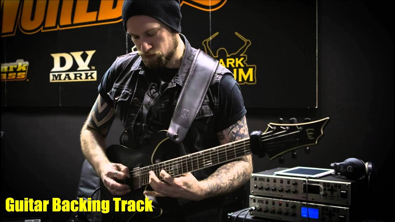 andy james warmarch guitar backing track with loop control