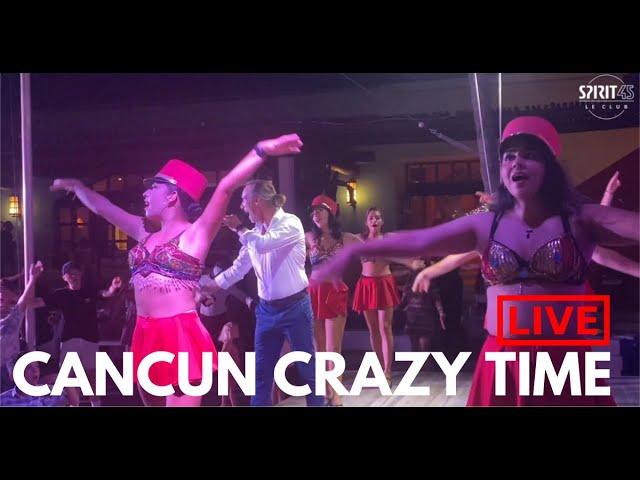 Club Med Cancun - Crazy Time magique avec des smartphones